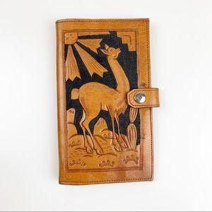 Handbags - Peruvian Leather Handmade Wallet